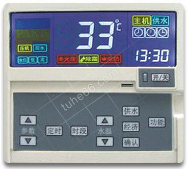 土禾空气能热水器控制面板.jpg